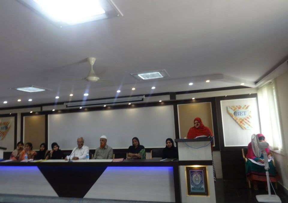 knowledge sharing session on APJ kalam