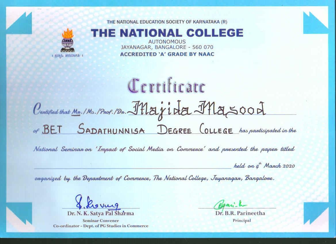 majeeda Masood